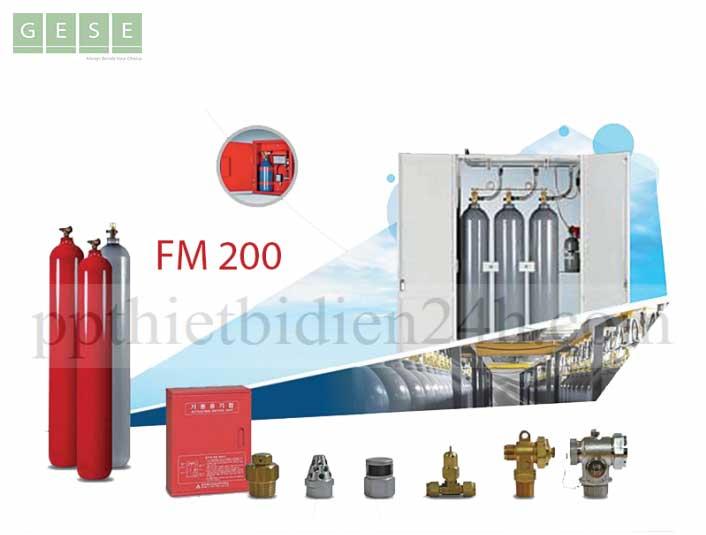 Hệ thống chữa cháy khí FM200 PNP